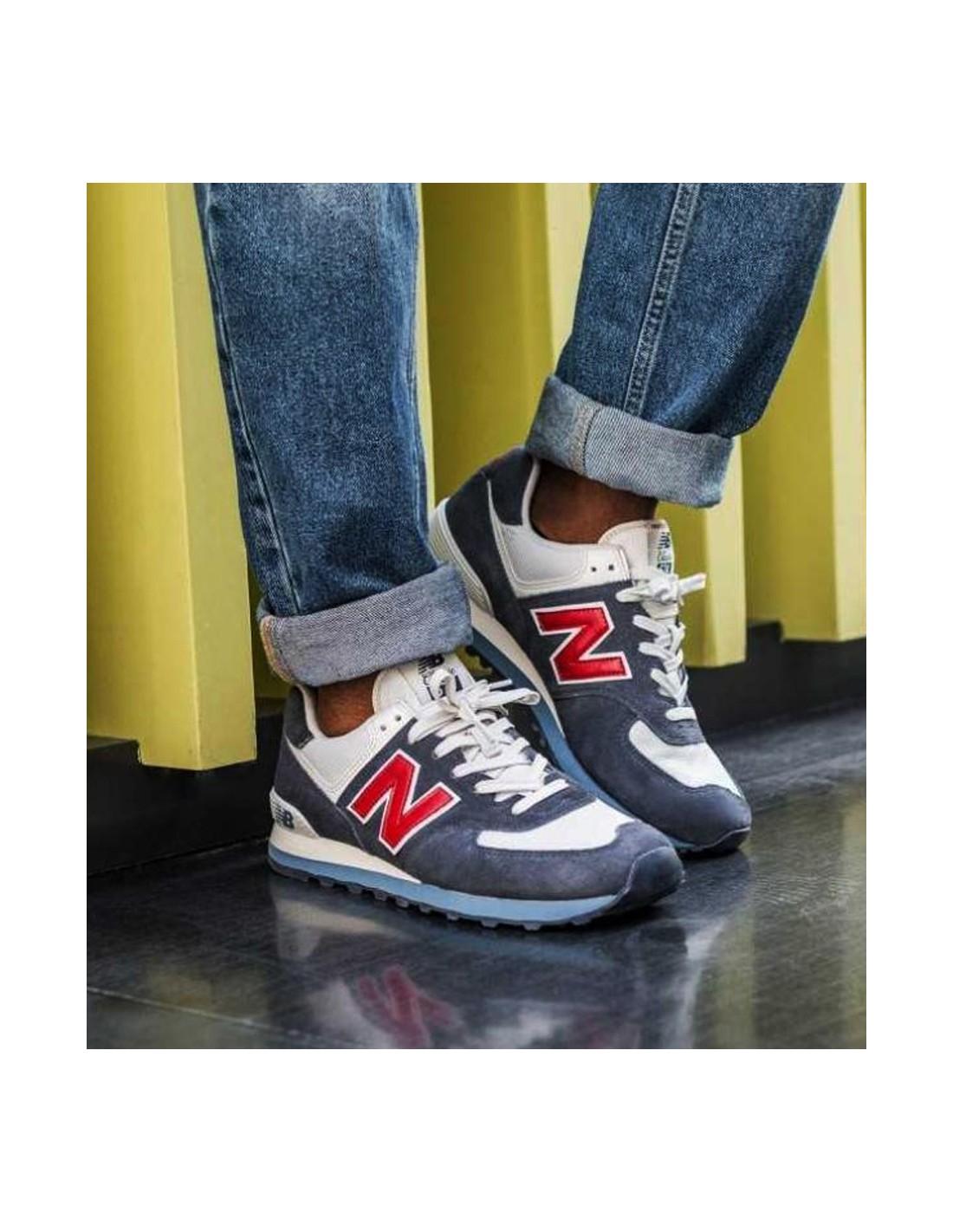 wholesale dealer e5c7c e450b New Balance Sneaker ML574ESC Navy
