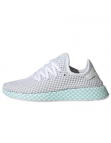17a1f599ebfbd ADIDAS Deerupt Runner White   Purple CG6089