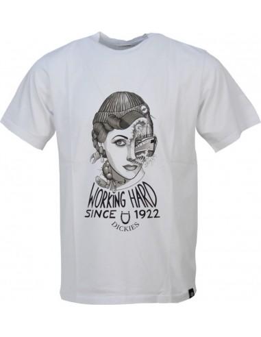 Dickies Ανδρικό T-shirt 0600075 White