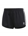 Adidas Originals Womens 3 Stripes Short Black DV2555