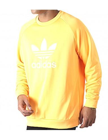 Adidas Originals Trefoil WARM-UP SWEATSHIRT -flash orange -EJ9679