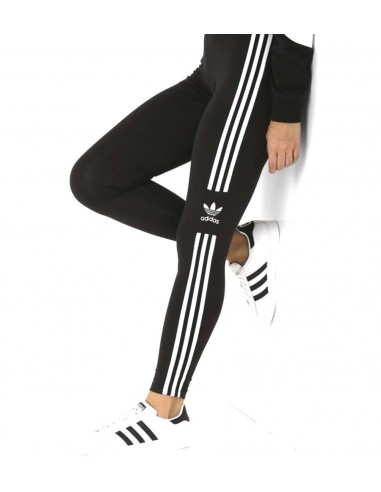 Adidas Originals Womens Trefoil  Tight  Black -DV2636