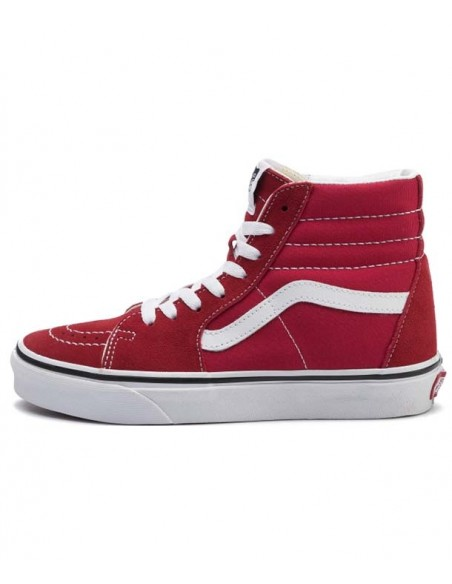 VANS SK8 HI -RACING RED/TRUE WHITE -VN0A4BV6JV61